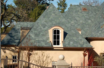 Tinted metal roofing