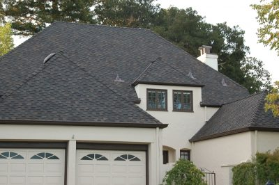 View of the front of the house and 2 car garage