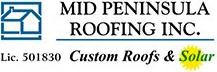 Mid Peninsula Roofing, Header logo