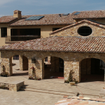 stone house build