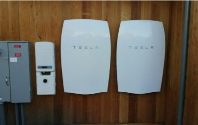 Tesla solar batteries